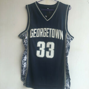 Jersey of Patrick Ewing #33 Georgetown University Basketball Team  - All Sizes