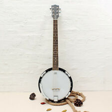 6-string Banjo Exquisite Professional Sapelli Notopleura Wood Alloy