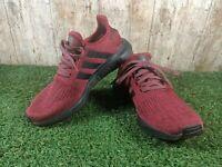 ADIDAS SWIFT RUN EE6558 BURGUNDY Maroon Black Trainers Shoes Size 6 UK
