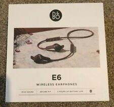 B&O Wireless Earphones Beoplay E6 Bluetooth Dark Plum - VERY GOOD CONDITION