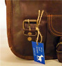 "Handmade Goat Leather 11"" Satchel iPad Bag SSP/R Billy Goat Designs"