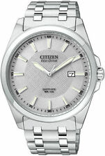 Citizen Stainless Steel Case Adult Watches with 12-Hour Dial