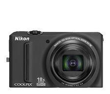 Nikon COOLPIX S9100 12.0MP Digitalkamera - Schwarz