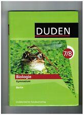 Biologie 7/8 Lehrbuch. von Edeltraud Kemnitz, Manfred Kurze, Frank Horn,...