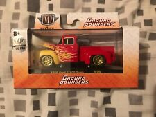 M2 Machines Ground Pounders 1956 Ford F-100 truck chase