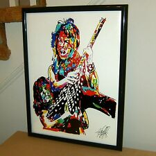 Randy Rhoads, Ozzy Osbourne, Guitar Player, Guitarist, Rock 18x24  POSTER w/COA1