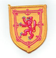 Toppe Toppa PATCH stemma blasone Bandiera  SCOZZESE SCOZIA scotland  ricamata