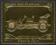 Bernera (L) Mercedes Simplex/Vintage Car/Gold/Transport/Motoring/Cars 1v s6048j