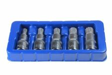 SPLINE BIT SOCKET SET M10 M12 M14 M18 & M16 tamperproof triple square by US PRO