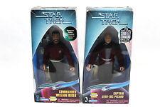 Lot of 2 Star Trek Captian Picard Target Exclusive & William Riker Spencer Gifts
