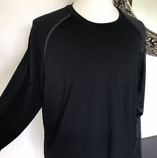 Nike Mens Black Longsleeve Shirt One Sleeve Special Detail XL W/flaw