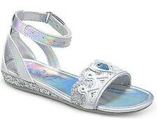 NIB STRIDE RITE Sandals Disney Princess Cinderella Silver Metallic Shine 12.5 W