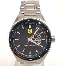 Ferrari Men's 0830189 Gran Premio Silver-Tone Stainless Steel Watch Preowned
