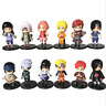 12 Pcs/Set Anime Naruto Kakashi Gaara PVC Action Figure Collectible Toy Gifts
