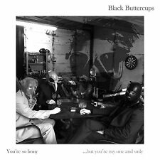 """Black Buttercups Vinyl LP - """"Your so Bony, but you're my one and only"""" Dark rock"""