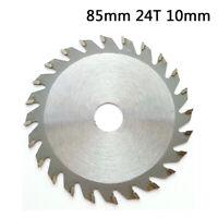 1x 85mm 24-teeth Bore TCT Circular Saw Blade Disc Cutting Wood Metal Plastic