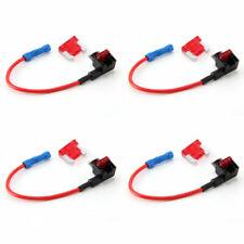 4pcs Add A Circuit mini Blade Fuse Splice Holder ATO ATC Piggy Back Fuse Tap
