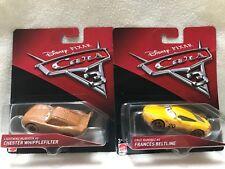 Disney Pixar Cars 3  Crazy 8 Lightning McQueen & Cruz Ramirez 2 Pack