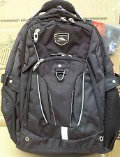 """New High Sierra Elite Backpack GRAY Business Pack for 17"""" Laptop & Tablet NEW"""