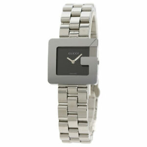 GUCCI Square face G Watches 3600L Stainless Steel/Stainless Steel Ladies