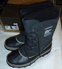 Sorel Men's Caribou Black Tusk Boots Sz 8.5 New!