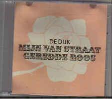 De Dijk-Mijn Van Straat Geredde Roos Promo cd single