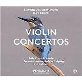 Beethoven & Bruch: Violin Concertos, Gewandhausorchester Leipzig, Sal, Audio CD,