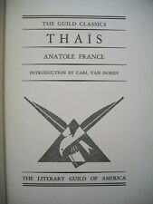 Thais (Anatole France, N.D. Hardcover) The Guild Classics