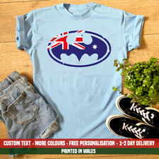 Ladies Australia Batman T Shirt Australian Day Sydney Perth Holiday Gift Top