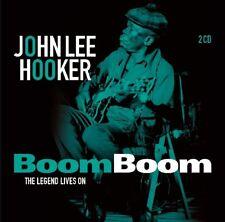 JOHN LEE HOOKER - BOOM BOOM: THE LEGEND LIVES ON  2 CD NEUF