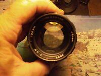 Exakta VOSS 135/2.8 no.28878E Zebra lens Sony Nikon Canon Fujifilm Pentax Leica