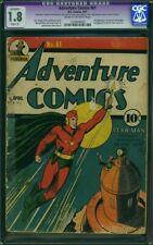ADVENTURE COMICS 61 CGC Graded 1ST 1941 STARMAN Key JSA World's Best Comics 1 AD