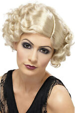 20 FLAPPER Diva Perruque blonde NEUF - Carnaval perruque cheveux