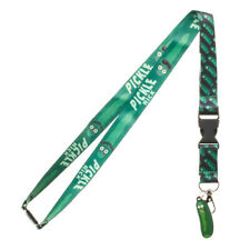 Rick and Morty Pickle Rick Lanyard with ID Holder & Charm New