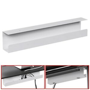 """Under Desk Cable Cord Management Tray Power Strip Adapter Organizer Steel 23"""""""