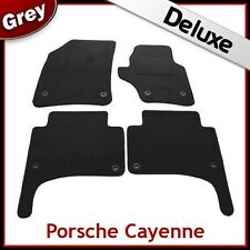 PORSCHE Cayenne 2003 2004... 2009 su misura LUSSO 1300g AUTO MAT (OVALE clip) Grigio