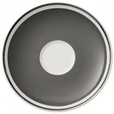 Villeroy & and Boch ANMUT - Rock Grey saucer for tea / coffee cup 15cm NEW NWL