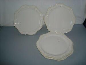 Princess House Pavillion  4 Ceramic  Dinner Plates 1304