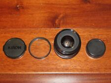 Kiron 28mm f/2 Wide Angle Lens for Minolta M/MD EXCELENT COND. MADE IN JAPAN