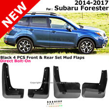 Splash Guards Full Set Front Rear 2014-2017 For Subaru Forester Mud Flaps