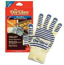 Ove Glove Heavy Duty Oven Glove Washable with Non-slip Silicone Grip