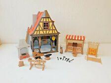 Playmobil blacksmith 6329 + extra marketstand