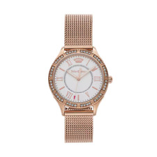 Juicy Couture Women's Arianna Crystal Stainless Steel Watch 1901379