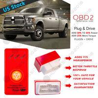 RED Obd2 Performance Chip Save Fuel//Diesel Dodge RAM 2500//3500 5.9l 6.7l cummins