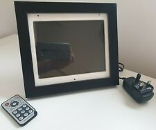 "8"" Digital Photo Frame with Motion Sensor Picture Wood Frames Advertising Player"