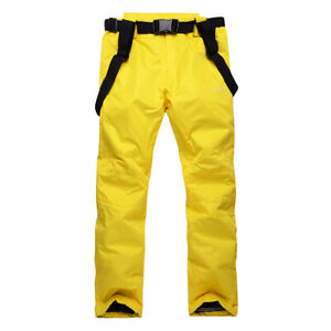 Men Women Ski Pants Insulated Snow Pant Outdoor Essential Insulated Bib Overalls