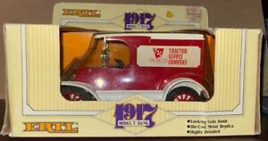 1985 ERTL 1/25 Diecast 1917 Ford Model T Truck Bank Tractor Supply Co NEW #9356