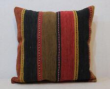 20''x20'' kilim pillow cover striped pillow cover wool kelim  pillow 50x50 cm