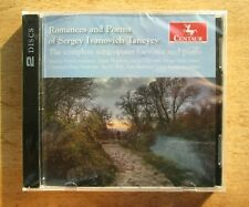 N&S*2Cd Set_Sergei Taneyev: Complete Songs For Voice & Piano [Centaur 2019]