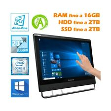 """PC COMPUTER DESKTOP AIO ALL IN ONE LENOVO M93Z 23"""" TOUCHSCREEN TOUCH I3 4130-"""